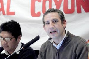 Image by: Antonio Menendez. Nacho Martínez durante su intervención